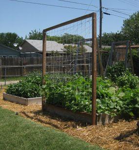 Delicieux DIY Garden Trellis